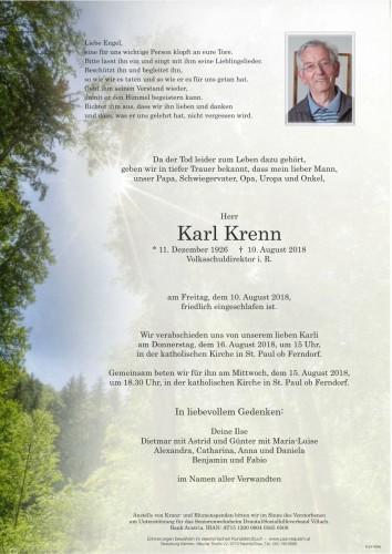 Karl Krenn