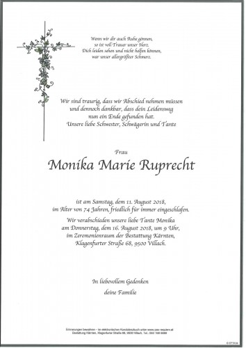 Monika Marie Ruprecht