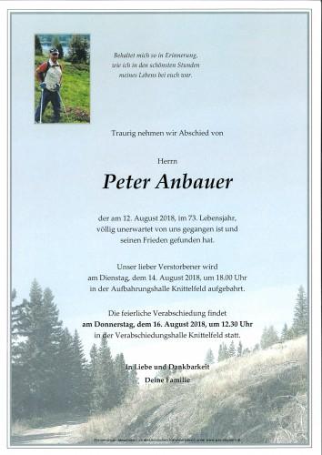 Peter Anbauer