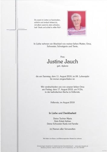 Justine Jauch