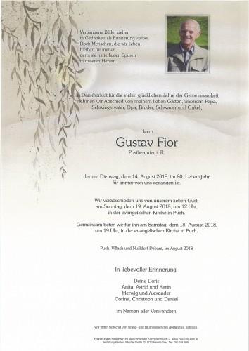 Gustav Fior