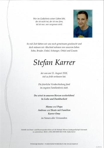 Stefan Karrer