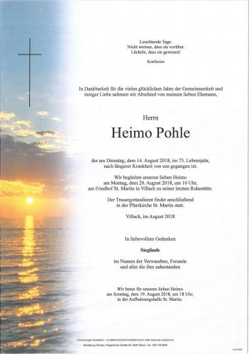 Heimo Pohle
