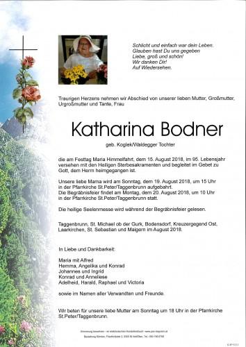 Katharina Bodner