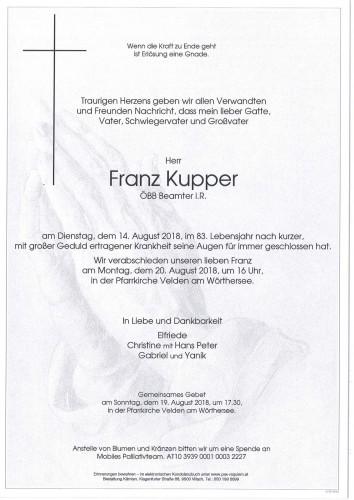 Franz Kupper