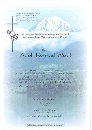 Adolf Konrad Wadl