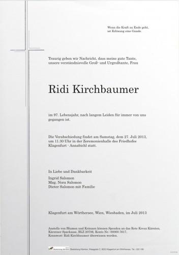 Ridi Kirchbaumer