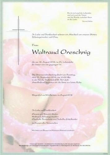 Waltraud Oreschnig