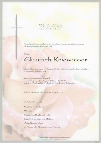 Elisabeth Kniewasser