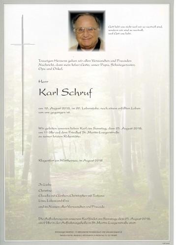 Karl Schruf