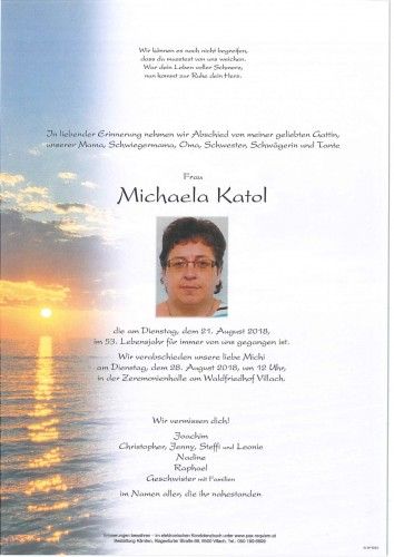 Michaela Katol