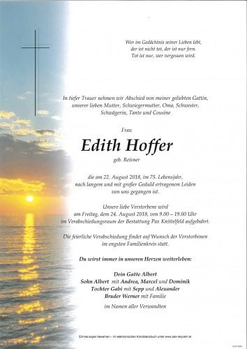 Edith Hoffer