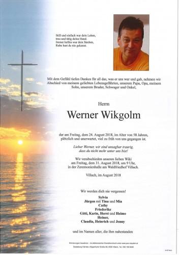 Werner Wikgolm