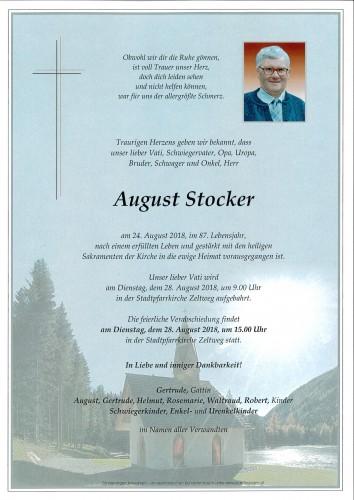 August Stocker