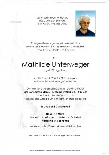 Mathilde Unterweger