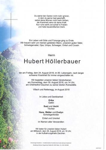 Hubert Höllerbauer