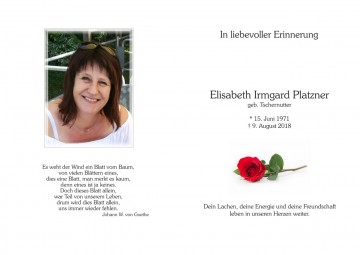 "Elisabeth ""Lisi"" Platzner"