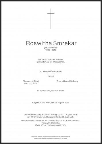 Roswitha Smrekar