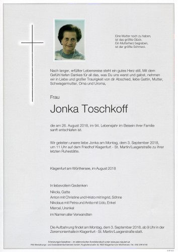 Jonka Toschkoff