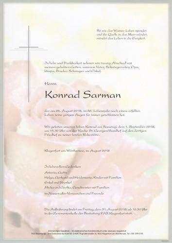 Konrad Sarman