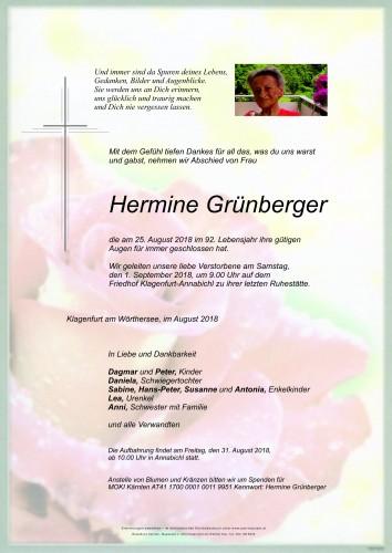 Hermine Grünberger