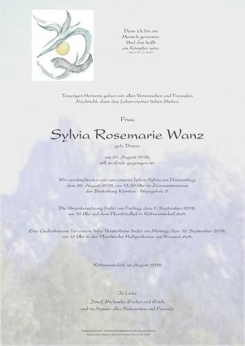 Sylvia Rosemarie Wanz