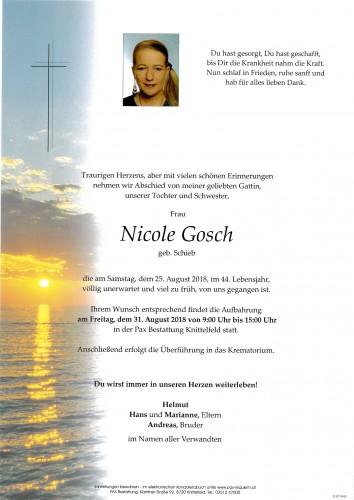 Nicole Gosch