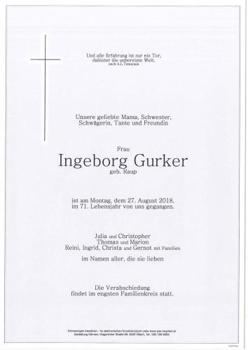Ingeborg Gurker