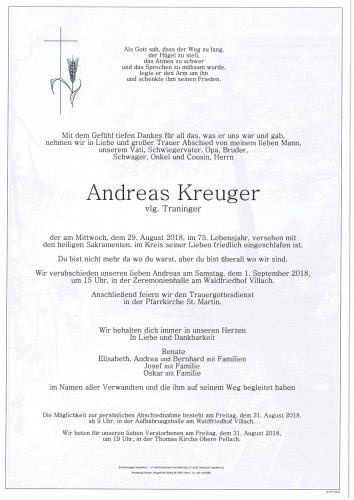 Andreas Kreuger
