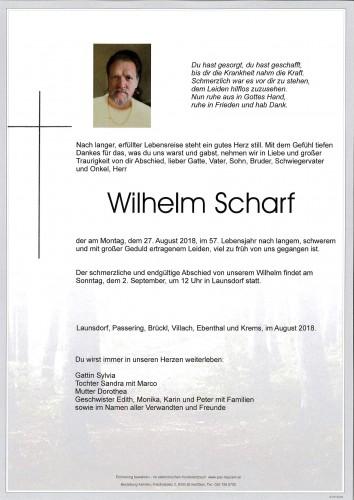 Wilhelm Scharf