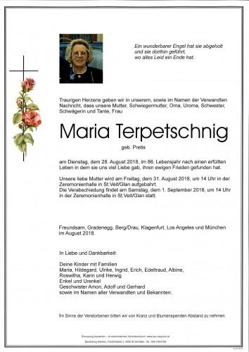 Maria Terpetschnig