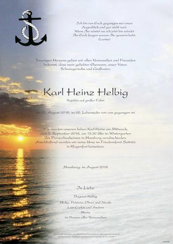 Karl Heinz Helbig