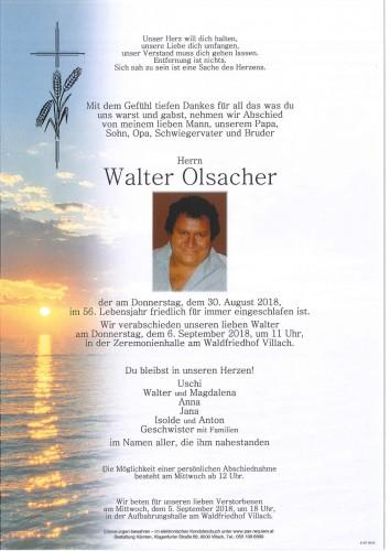 Walter Olsacher