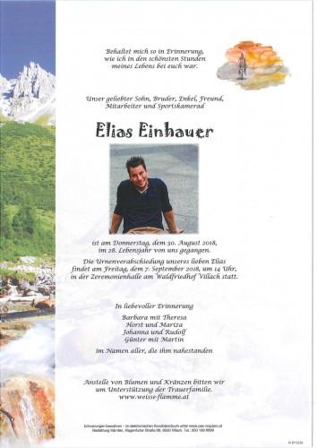 Elias Einhauer