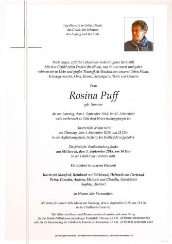 Rosina Puff