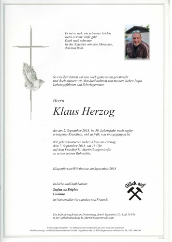 Klaus Herzog