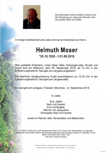 Helmuth Moser