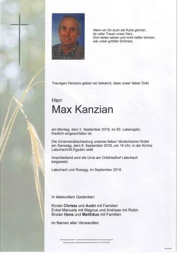 Max Kanzian