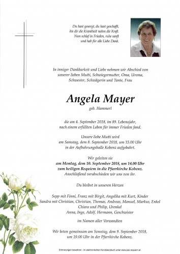 Angela Mayer