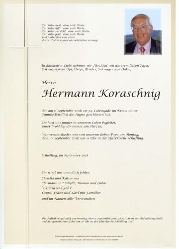 Hermann Koraschnig