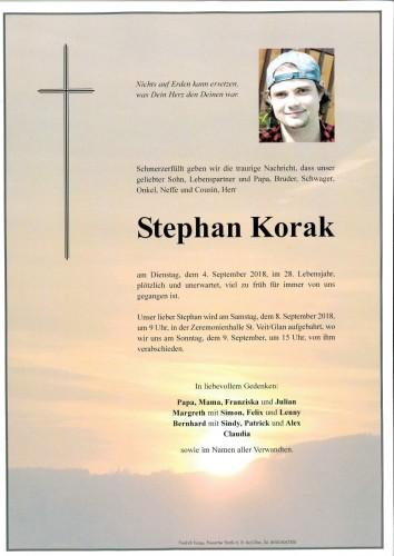 Stephan Korak