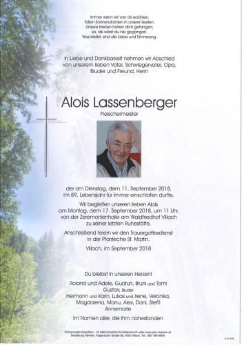 Alois Lassenberger