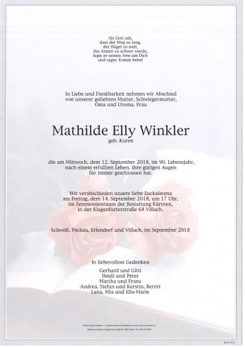Mathilde Winkler