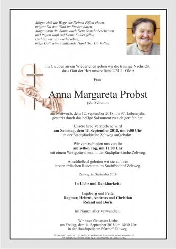 Anna Margareta Probst