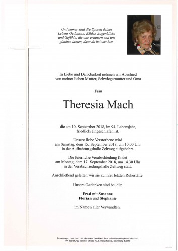 Theresia Mach