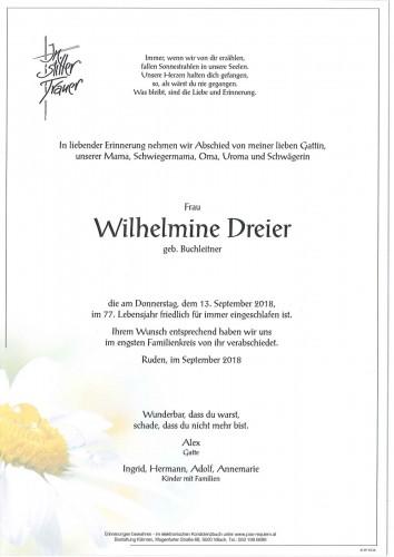 Wilhelmine Dreier