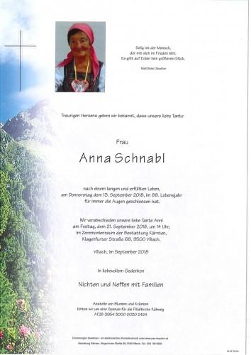 Anna Schnabl