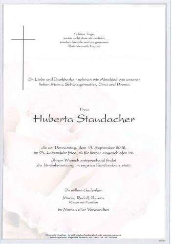 Huberta Staudacher