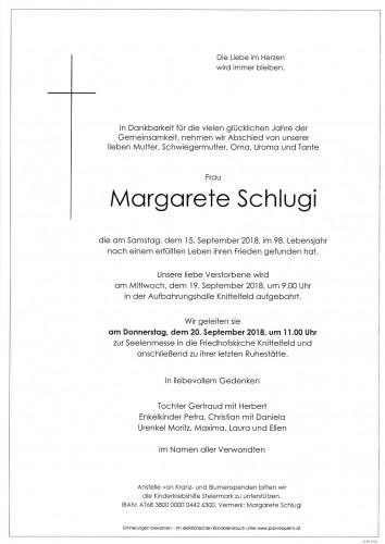 Margarete Schlugi