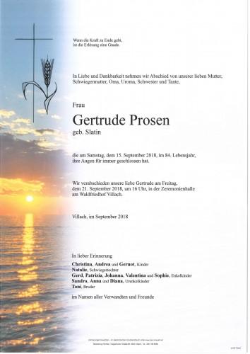 Gertrude Prosen